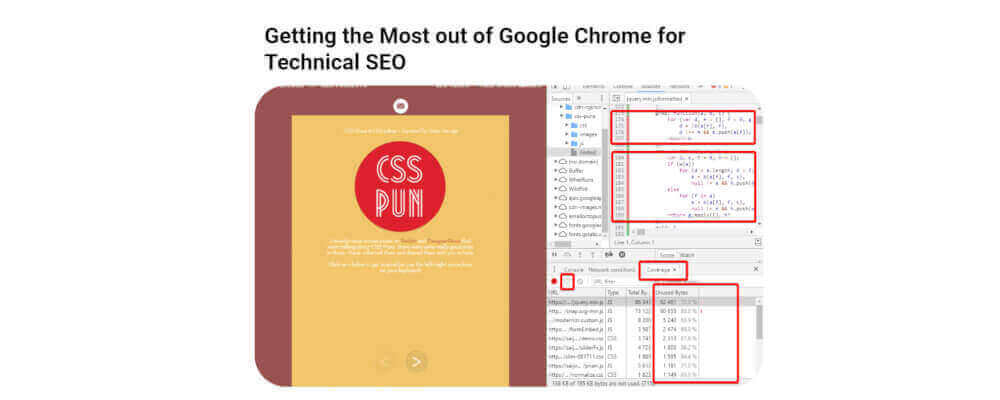 Getting the Most out of Google Chrome for Technical SEO