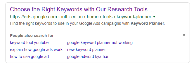 PASF keywords
